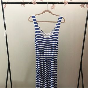 Fighting Eel Blue and White Striped Jumpsuit